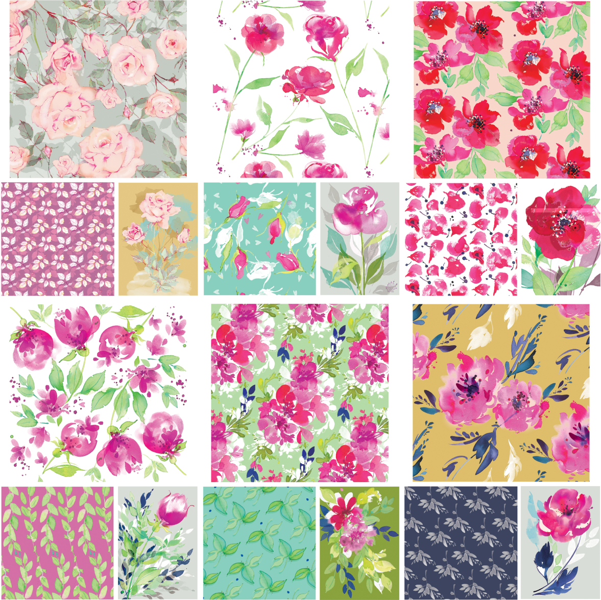 Beautiful florals Jane Dodds